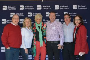 Bidvest Inurance Team with PJ Powers