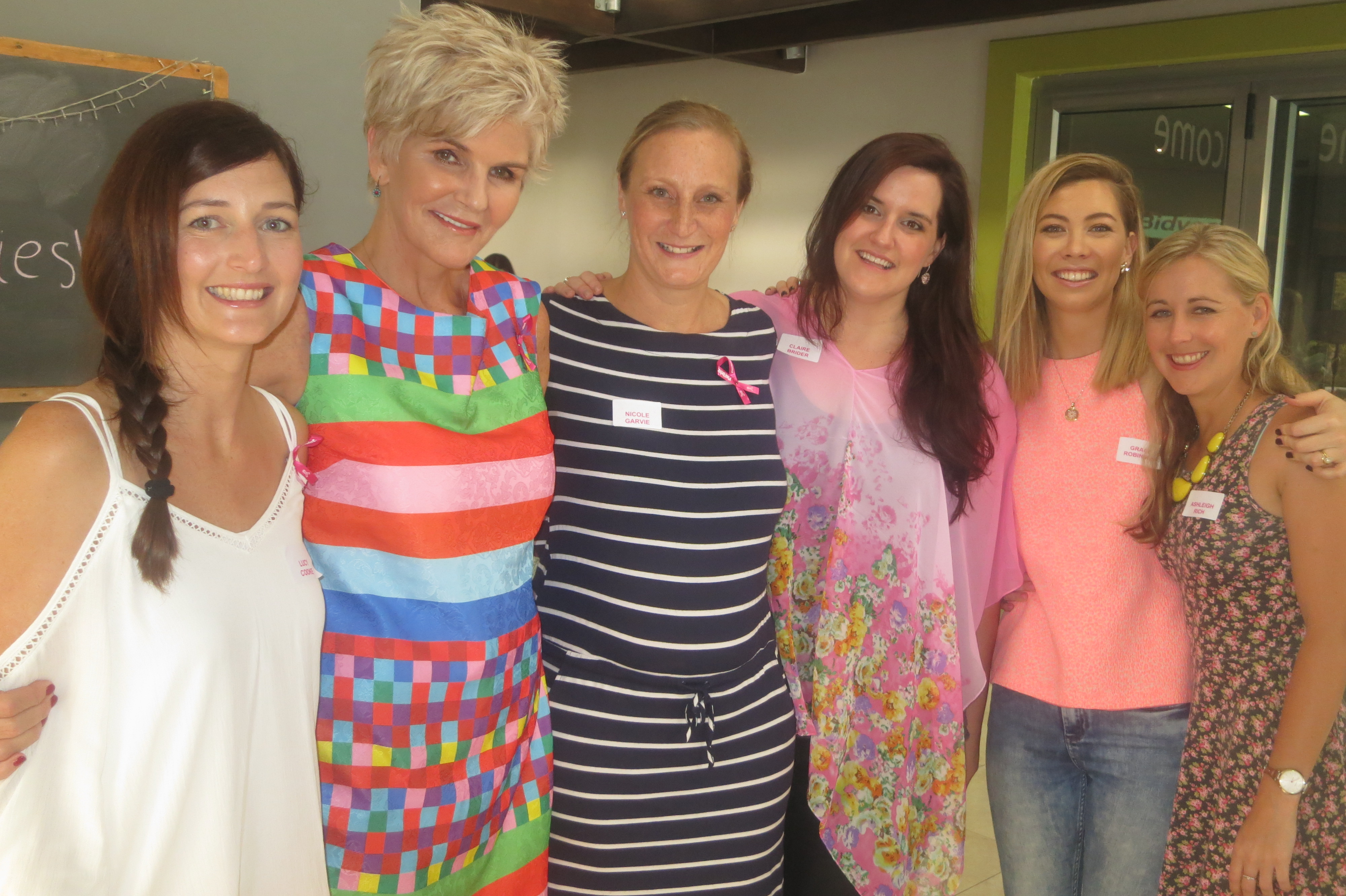 Lucy Cooke, PJ Powers, Nicole Garvie, Claire Brider, Grace Winter and Ashleigh Rich