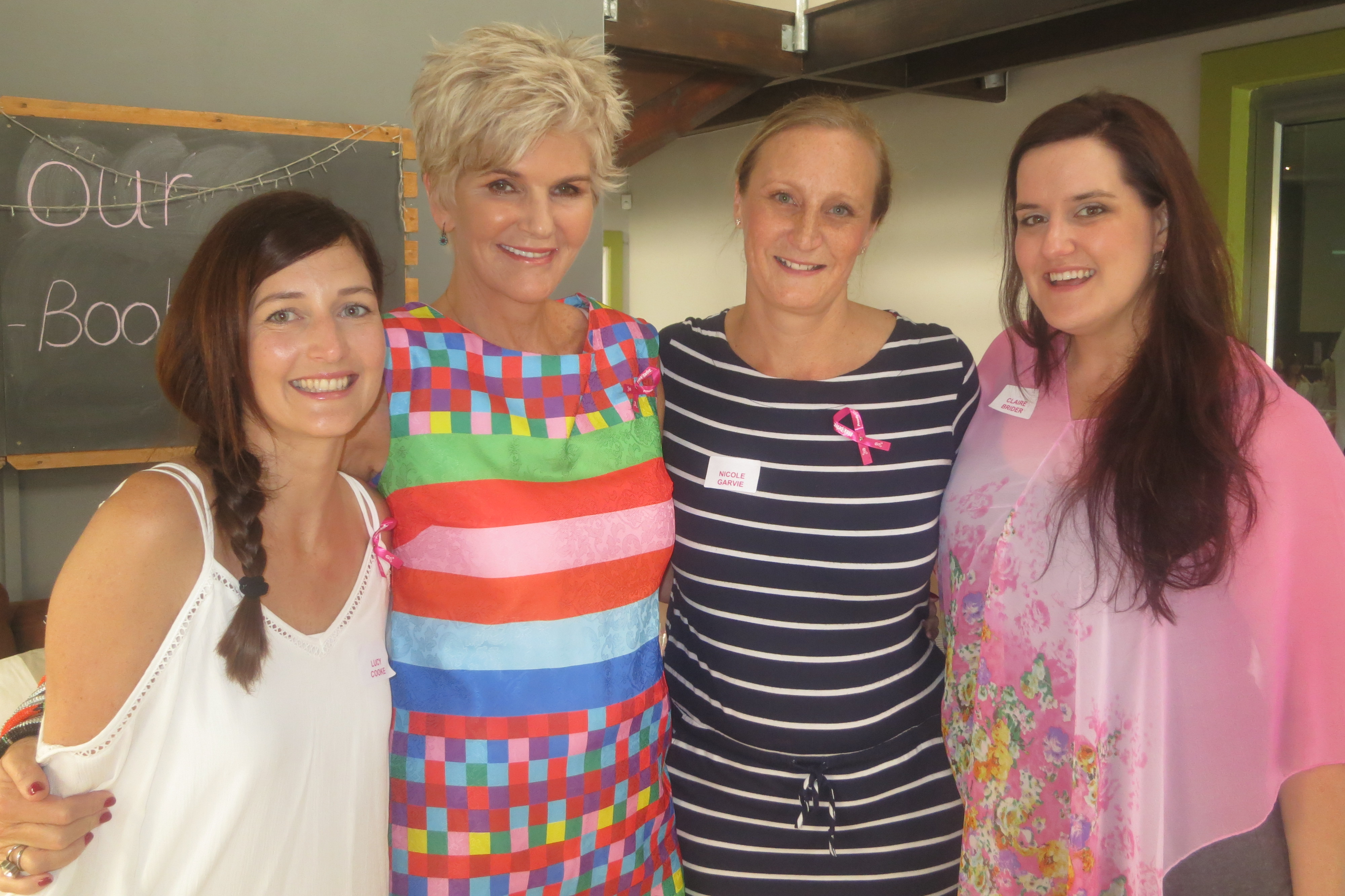 Lucy Cooke, PJ Powers, Nicole Garvie and Clair Brider